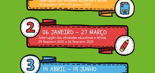 Calendário Escolar 2019-2020